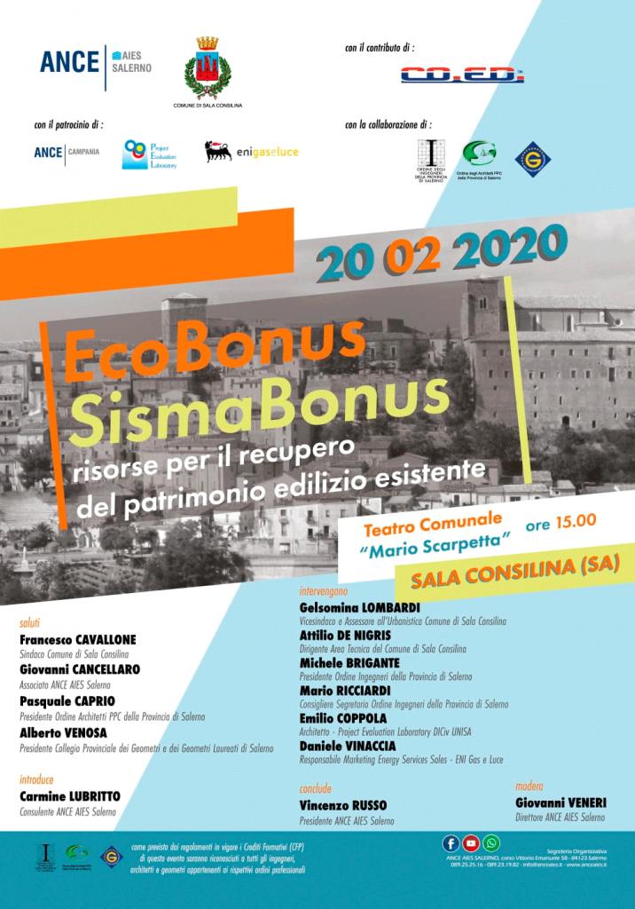 convegno su ecobonus e sismabonus