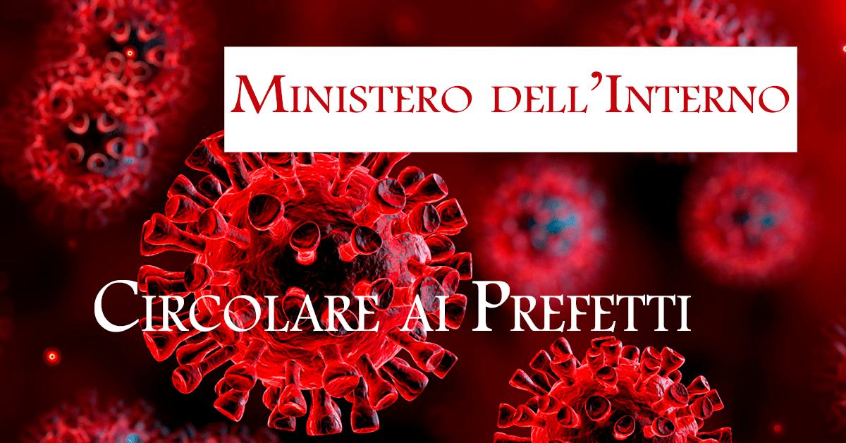 coronavirus-circolare-ministero-interno