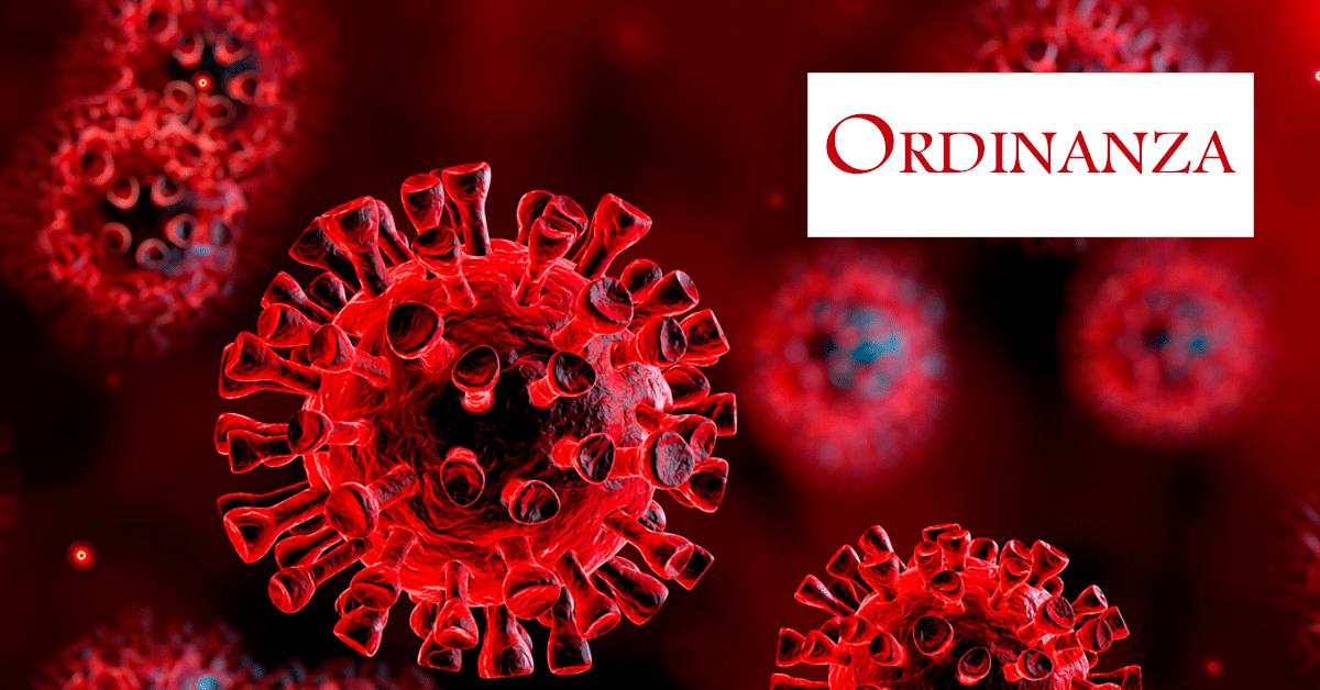 coronavirus ordinanza regionale