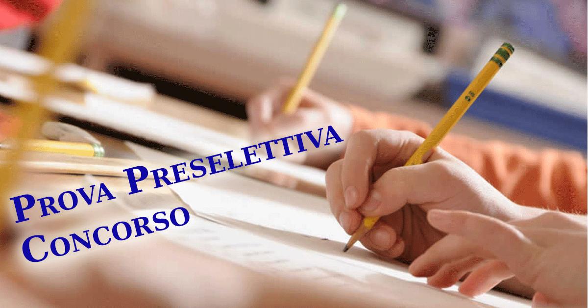prova-preselettiva-concorso