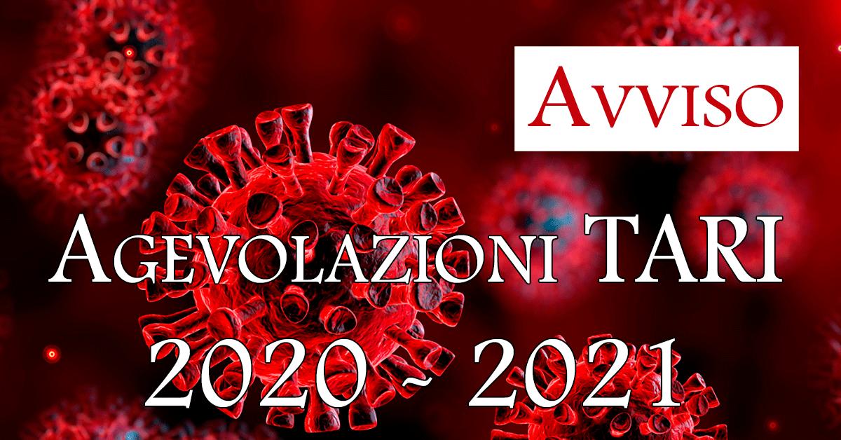 agevolazioni tari 2020-2021